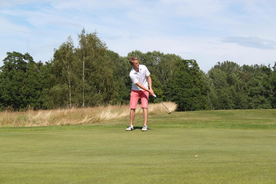 Lars Johan på delt 18. plass i NM på Borre