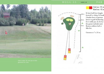 Hull 13 (Par 3, Indeks 18)