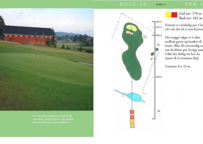 Hull 14 (Par 3, Indeks 4)