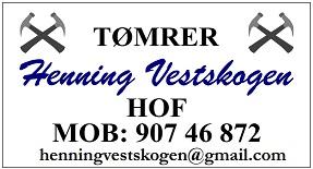 Tømrer Henning Vestskogen