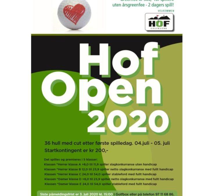 Hof Open 2020