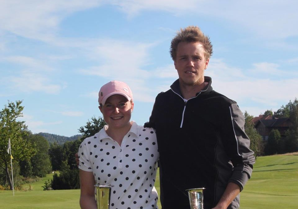 Lars Johan og Solveig Klubbmestere 2015